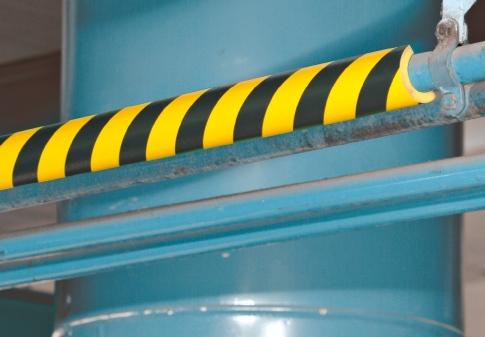 Type R2 BIGGER, Pipe Protection Foam Guard - Black/Yellow
