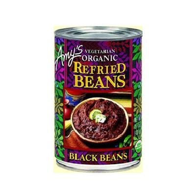 Amys Kitchen Refried Black Beans (12x154 Oz)