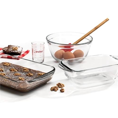 Anchor Glass Bake Set 4pc