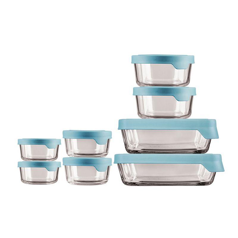 16 Pc. Food Storage Set Min Bu