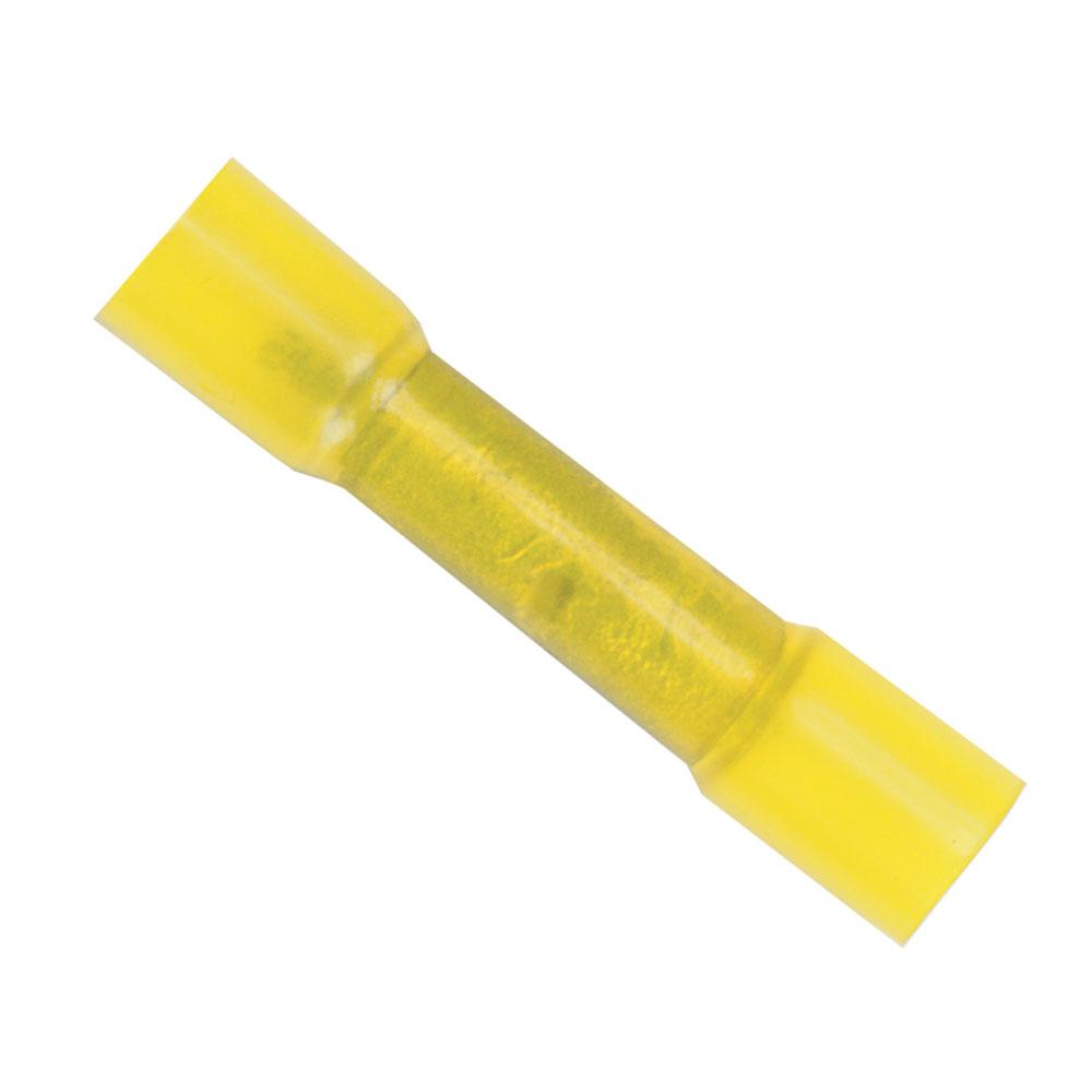 Ancor 12-10 Heatshrink Butt Connectors - 100-Pack