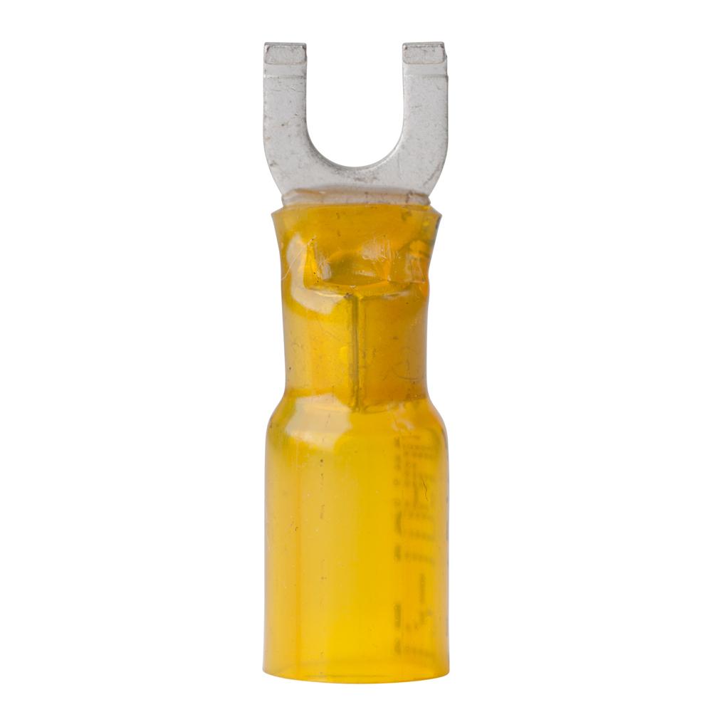 Ancor 12-10 Gauge - #8 Heat Shrink Spade Terminals - 100 Pack