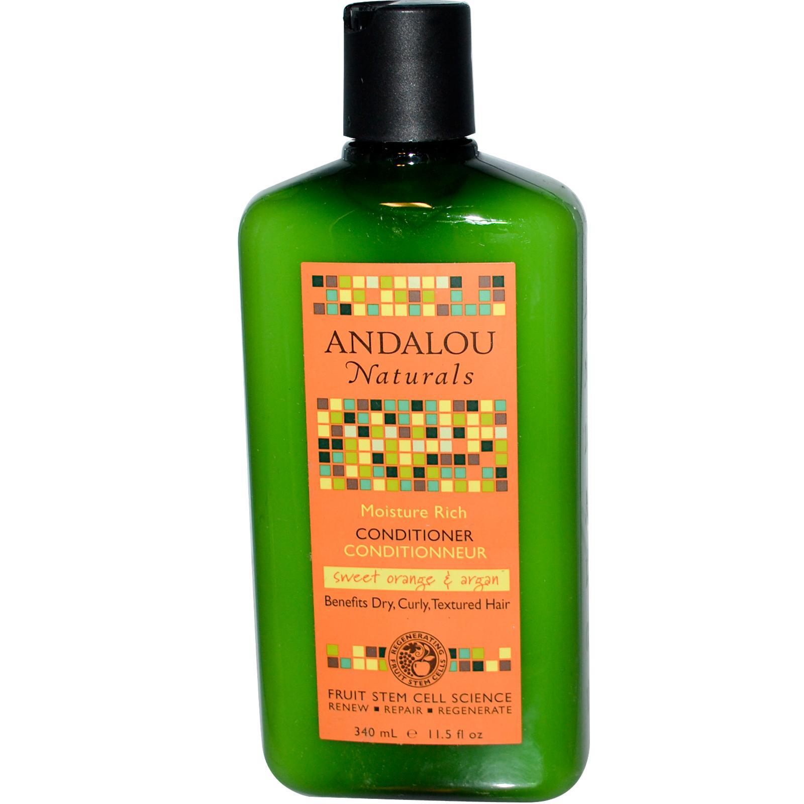Andalou Naturals Moisture Rich Sweet Orange & Argan Conditioner (1x11.5 Oz)