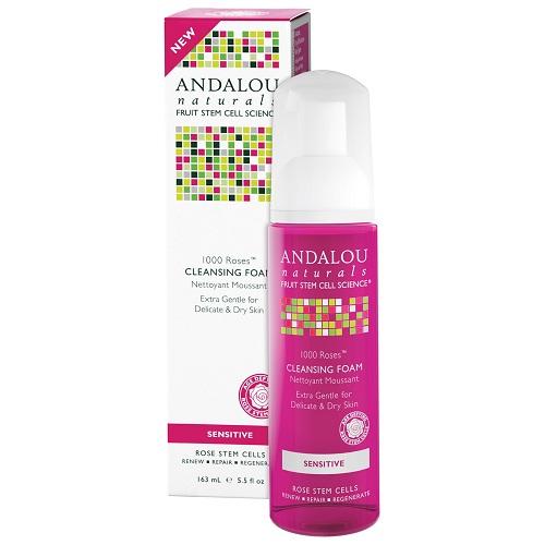 Andalou Naturals 1000 Roses Cleansing Foam (1x55 OZ)