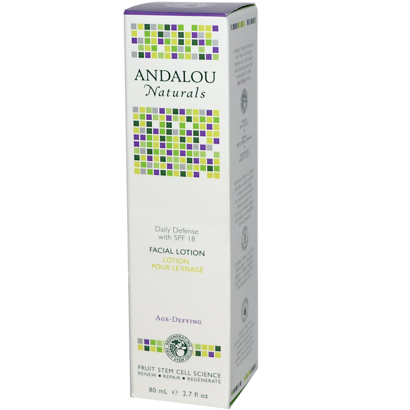 Andalou Naturals Daily Defense Facial Lotion w/ SPF 18 (1x27 Oz)
