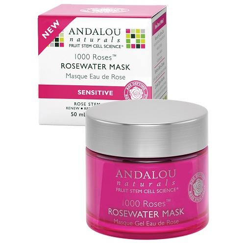 Andalou Naturals 1000 Roses Rosewater Gel Mask  (1x17 OZ)