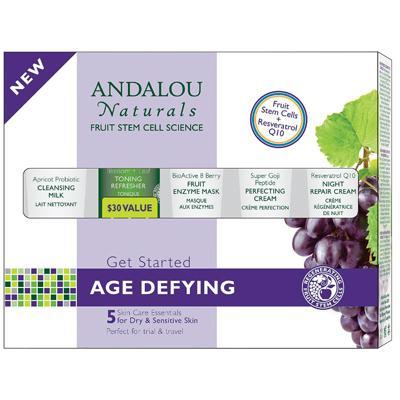 Andalou Naturals Age Defying Kit 5 Pc (1xKit)