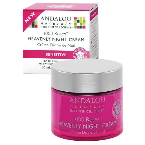 Andalou Naturals 1000 Roses Heavenly Night Cream (1x17 OZ)