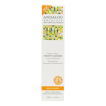 Andalou Naturals Meyer Lemon Creamy Cleanser (1x6 Oz)