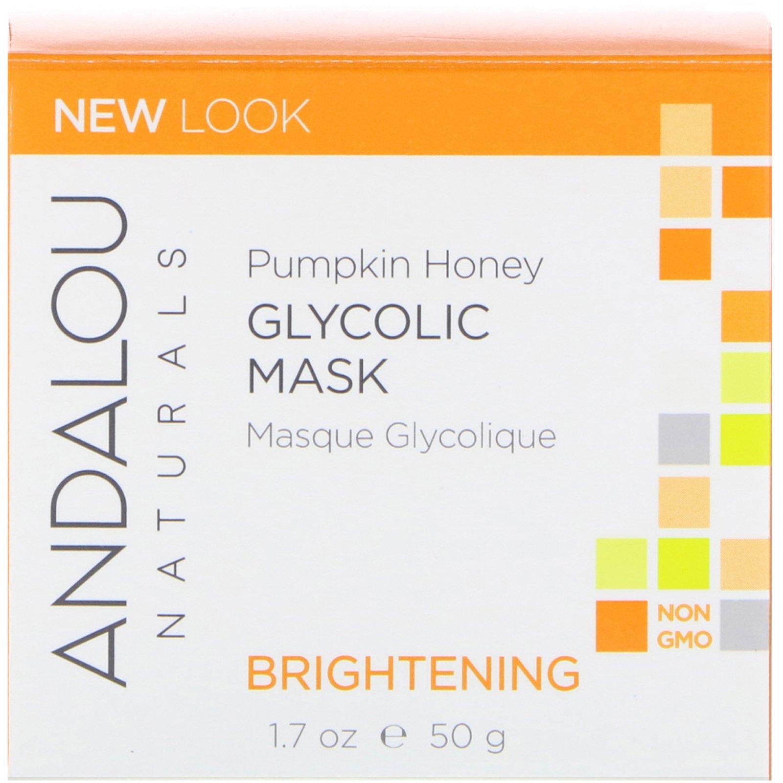 Andalou Naturals Pumpkin Honey Glycolic Mask (1x17 Oz)
