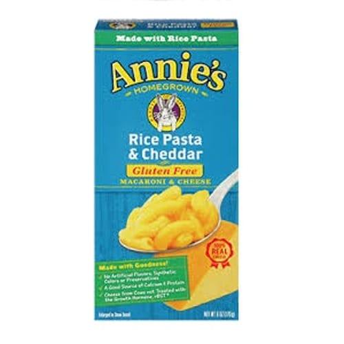 Annies Cheddar Rice Pasta (12x6 Oz)