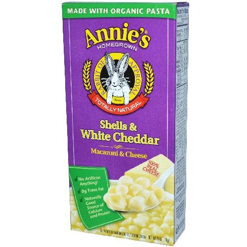 Annies Pasta & White Cheddar (12x6 Oz)