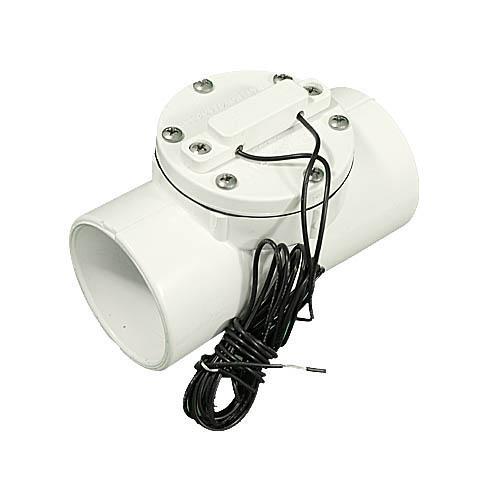 "Flow Switch, Aqualarm, 8-12 GPM, 1 Amp, 1-1/2""Slip x 1-1/2""Slip"