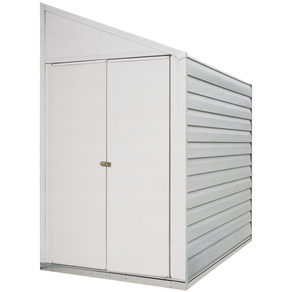 YARDSAVER 4FT X 10FT STEEL EGGSHEEL- DOOR=W38.5IN X H60.25IN