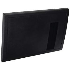 BLACK DOOR ASSEMBLY FOR WF-8930/50NPB W/WINDOW (9 1/2IN H X 13 3/4IN W)
