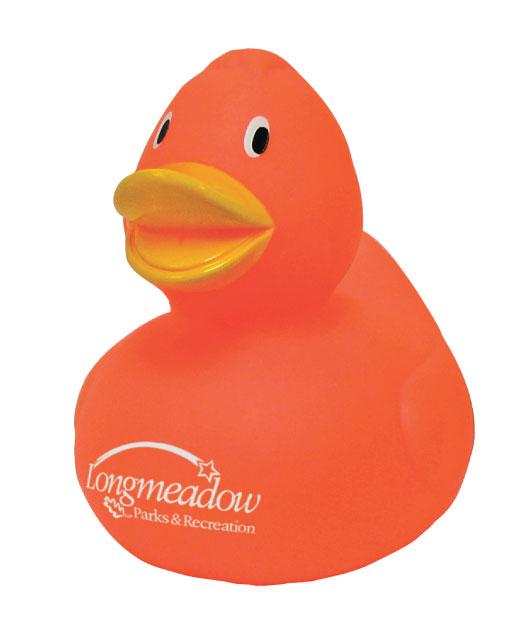 Rubber Duck, Orange Duck