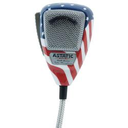 Astatic 636L Microphone Stars And Stripes N/C