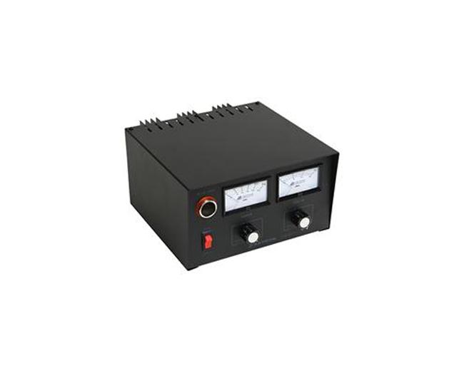 ADJUSTABLE 20 AMP, V/A METERS