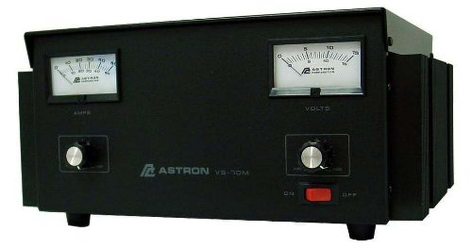 57 AMP VARIABLE POWER SUPPLY W/METERS