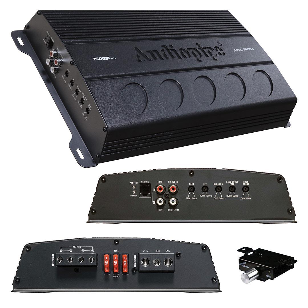 Audiopipe Mono Block Amplifier 1500 Watts