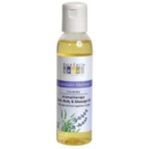 Aura Cacia Lavender Harvest Massage Bath Oil (1x4 Oz)