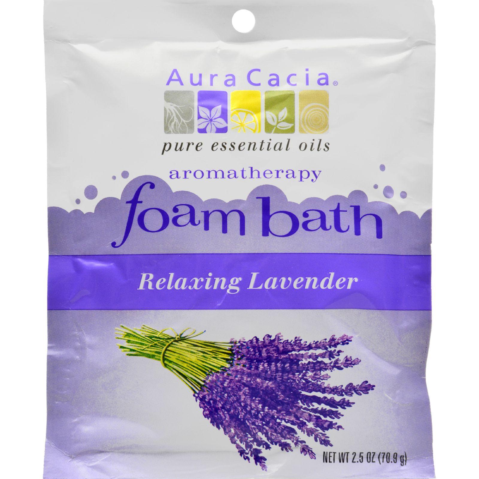 Aura Cacia Lavender Foam Bath (6x25 Oz)