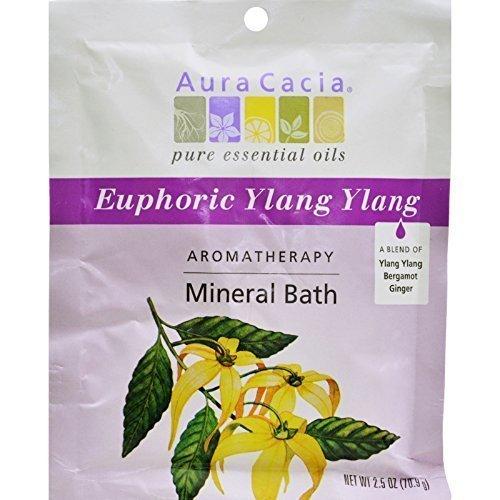 Aura Cacia Euphoria Mineral Bath (6x25 Oz)