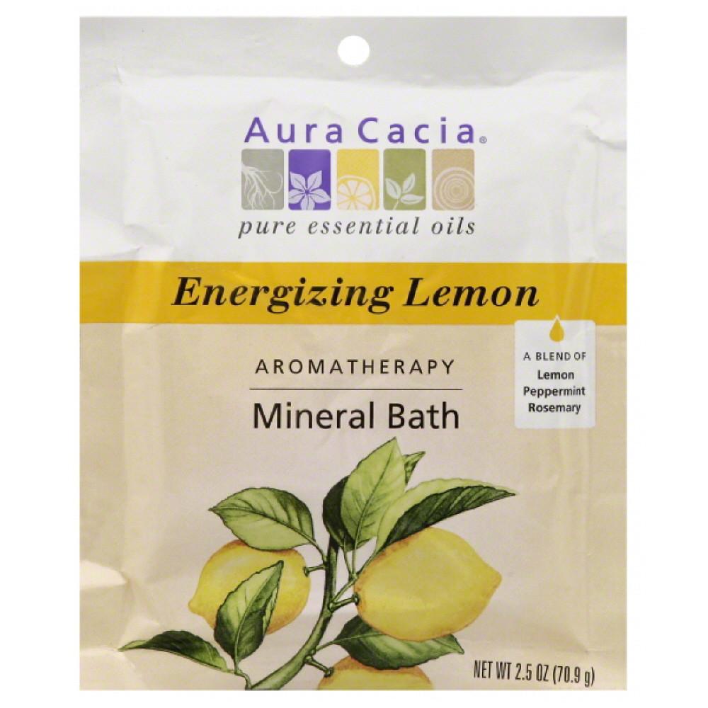 Aura Cacia Energize Mineral Bath (6x25 Oz)