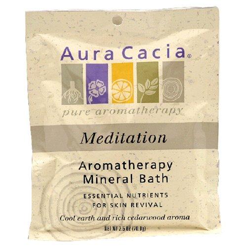 Aura Cacia Meditation Mineral Bath (6x25 Oz)