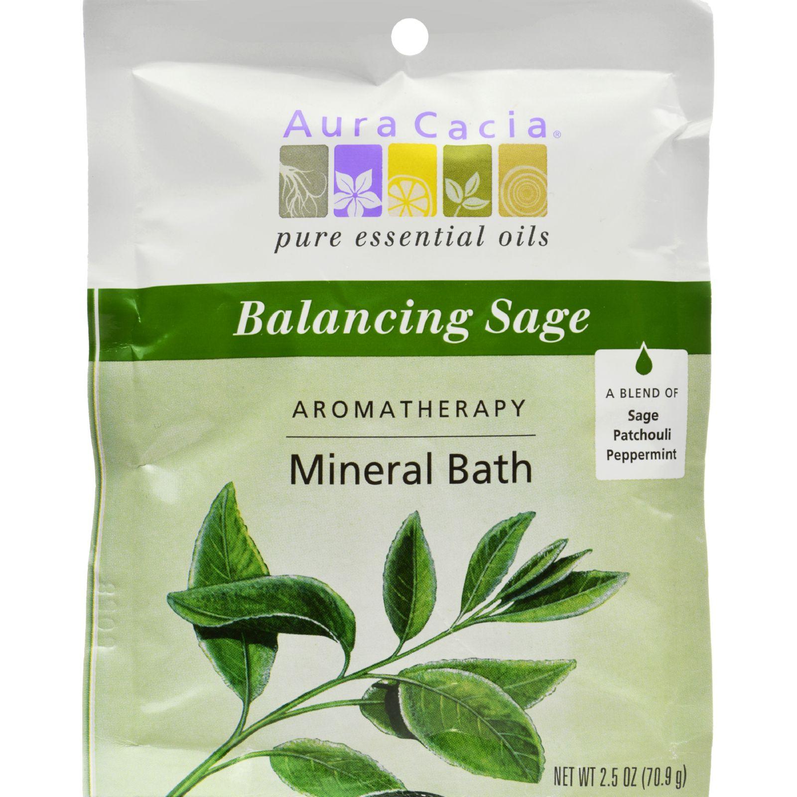 Aura Cacia Purify Mineral Bath (6x25Oz)