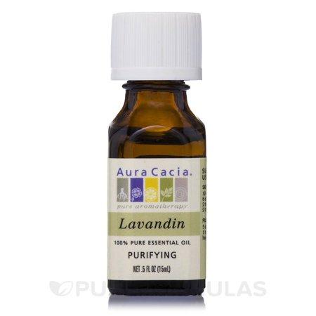 Aura Cacia Pure Essential Oil Lavandin (05 fl Oz)