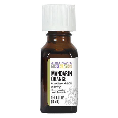 Aura Cacia 100% Pure Essential Oil Mandarin Orange (05 fl Oz)