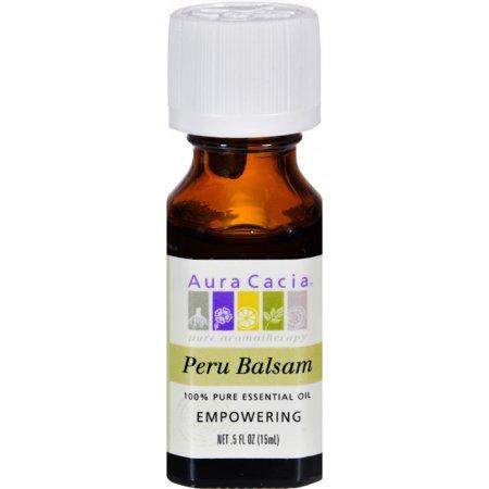 Aura Cacia Pure Essential Oil Peru Balsam (05 fl Oz)