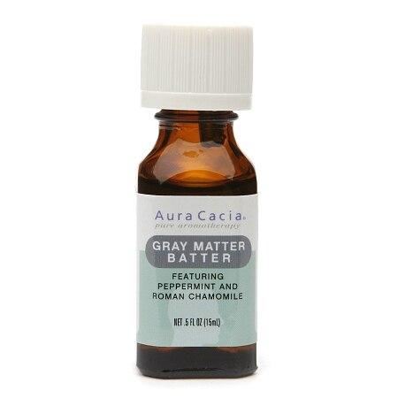 Aura Cacia Essential Solutions Oil Gray Matter Batter (05 fl Oz)