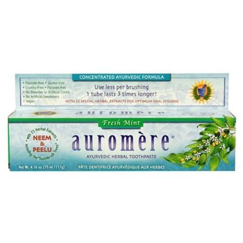 Auromere Freshmint Herbal Toothpaste (12x416 Oz)