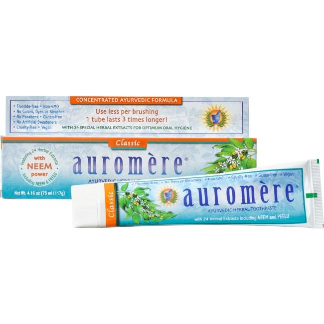 Auromere Licorice Herbal Toothpaste (12x416 Oz)