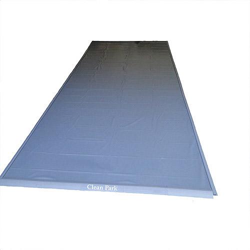 Park Smart® Clean Park® Garage Mat 9-feet x 20-feet Gray
