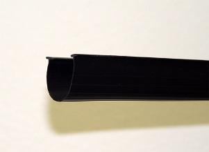 """Garage Door Bottom Seal - 20' Bottom Door Seal Flat 3.5"""" With 1/4"""" T-Ends"""
