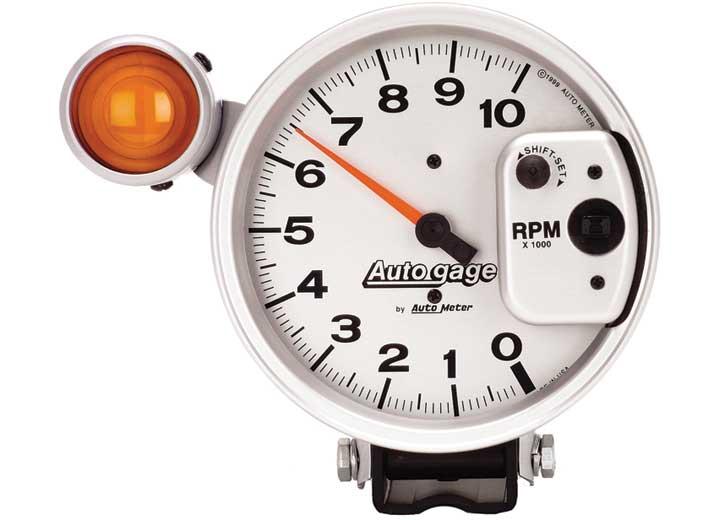 5IN TACH, 10,000 RPM, SHIFT-LITE, AUTO GAGE