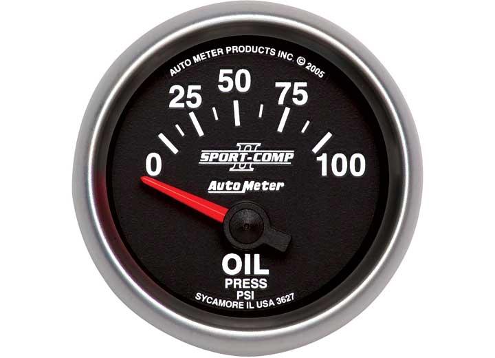 2-1/16IN OIL PRESS, 0-100 PSI, SSE