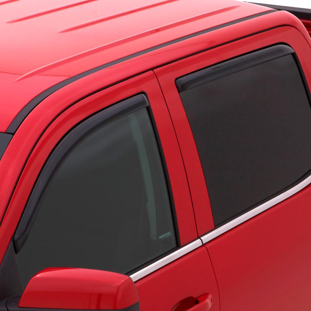 19-C RAM 1500 EXTENDED CAB PICKUP VENTVISOR IN-CHANNEL 4PC