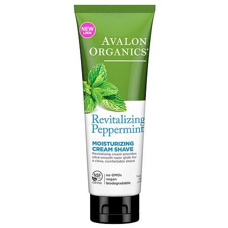 Avalon Peppermint Moist Shave Cream (1x8 Oz)