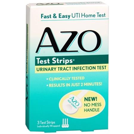 Azo Test Strips 3 Test Strips