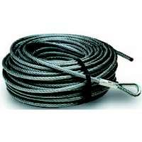 Baron 0 3205/50230 Pre-Cut Aircraft Cable, 3/16 - 1/4 in Dia x 50 ft L, 740 lb