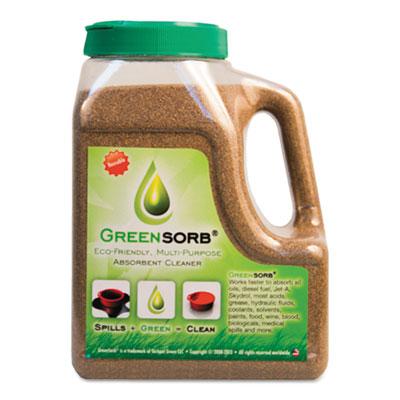Eco-Friendly Sorbent, Clay, 4 lb Shaker Bottle