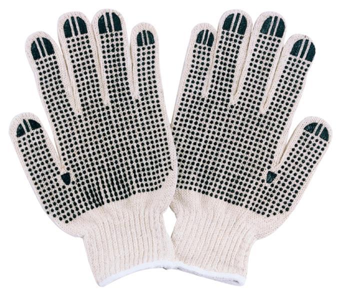 Diamondback FO809PVD2  Gloves, Cotton Knit, White, Natural