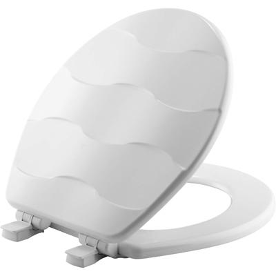 SEAT TOILET ENMLWOOD RND WHITE