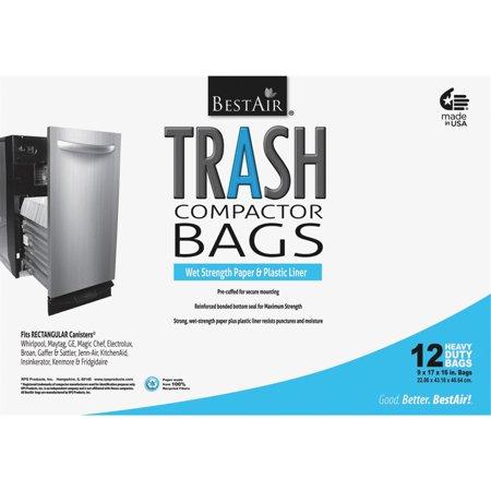 BAG TRASH COMPACTOR PPR PLSTC