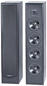 """BIC America DV64 6.5"""" Slim-Design Tower Speaker"""
