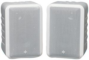 "BIC AMERICA RTRV44-2W 4"" RtR Series Indoor/Outdoor 3-Way Speakers (White)"